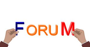 Forum Royalty Free Stock Photography
