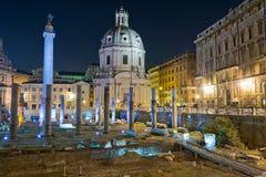 Forum impérial à Rome Photos libres de droits