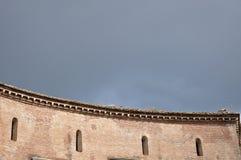 Forum impérial d'empereur Augustus Beaux vieux hublots à Rome (Italie) Photos libres de droits