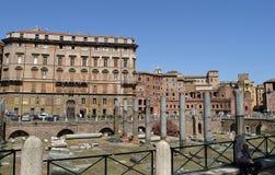 forum Italy Rome trajan s Obraz Royalty Free
