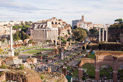 forum Italy rzymski Rome Obraz Royalty Free