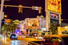 Forum kauft in Las Vegas lizenzfreies stockbild
