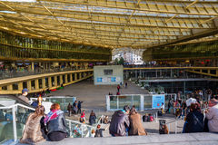 Forum Les Halles in Paris, France Royalty Free Stock Images