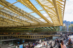 Forum Les Halles in Paris, France Royalty Free Stock Photography