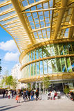 Forum Les Halles in Paris, France Royalty Free Stock Photos