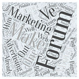 Forum Marketing Advertising Online word cloud concept word cloud concept  background Stock Photos