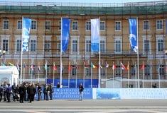 forum międzynarodowy legalny Petersburg st Obraz Royalty Free