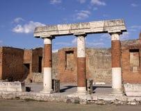 Forum Pillars Royalty Free Stock Images