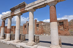 Forum of Pompei Stock Images