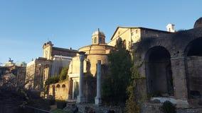 Forum romain Photos libres de droits