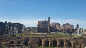 Forum romain Image libre de droits