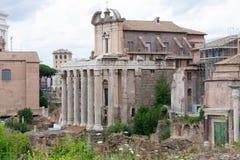 Forum romain Photos stock