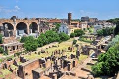 Forum romain photographie stock