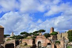 Forum romain et impérial image stock