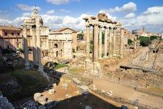 Forum romain (romano de Foro) Photos libres de droits