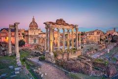 Forum romain, Rome photographie stock libre de droits