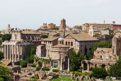 Forum romain, Rome, Italie photographie stock libre de droits
