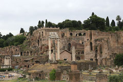 Forum romain, Rome, Italie Photos stock