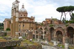 Forum romana, Rzym Obrazy Royalty Free