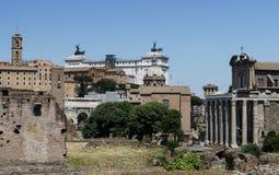 forum romana Rzymu Obraz Stock