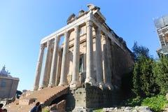 forum romana Rzymu Obraz Royalty Free