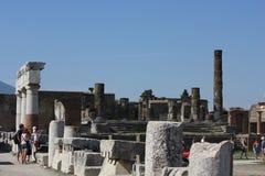 Forum romano di Pompei Immagini Stock Libere da Diritti