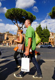 FORUM ROMANO, ROMA, ITALIA 24 SETTEMBRE Immagine Stock Libera da Diritti