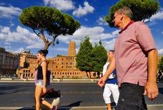 FORUM ROMANO, ROMA, ITALIA 24 SETTEMBRE Fotografia Stock Libera da Diritti