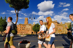 FORUM ROMANO, ROMA, ITALIA 24 SETTEMBRE Immagini Stock