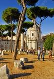 FORUM ROMANO, ROMA, ITALIA 24 SETTEMBRE Fotografie Stock Libere da Diritti