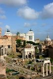 Forum Romanum Royalty Free Stock Photo