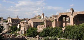 Forum Romanum Stock Photo