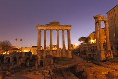 Forum Romanum Stock Photo