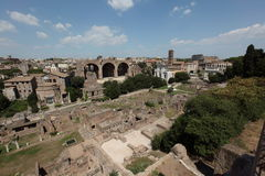 Forum Romanum  Royalty Free Stock Photo