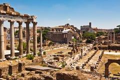 Forum Romanum. Travel in Italy. Rome, Forum Romanum Stock Photo