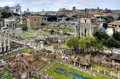forum romanum Obrazy Royalty Free