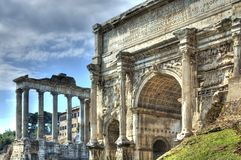 Forum Romanum Stock Photography