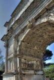 Forum Romanum Stockbild