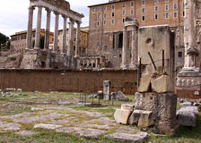 Forum Romanum Royalty Free Stock Photos
