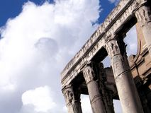 Forum Romanum Royalty Free Stock Photography