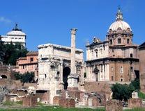 Forum Romanum Image libre de droits