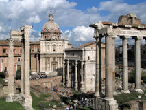 Forum Romanum Stock Images