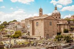 Forum Romanum Fotografia Stock