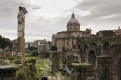 Forum Romanum Lizenzfreies Stockfoto