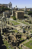 Forum Romanum Photographie stock