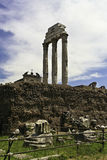Forum Romanum. Ruins, Forum Romanum in Rome Royalty Free Stock Images