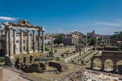 Forum Romanum Photo stock