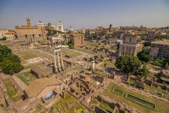 Forum Romanum Immagine Stock