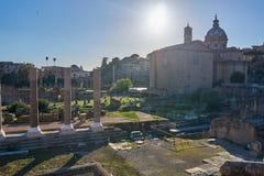 Forum Romanum Stockbilder