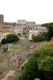 Forum Romanum and Colosseum Stock Photography